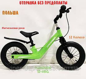 ✅Магнезиевый велобіг від-Баланс Байк HAMMER 12-49G Зелений Є у наявності!