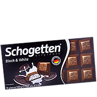 Шоколад Schogetten Black & White 100гр (1уп/15шт)