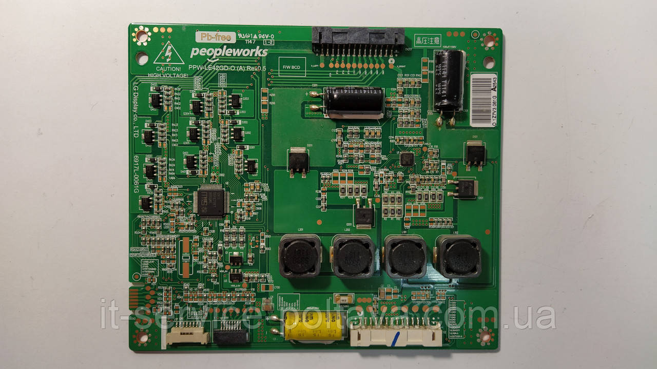 LED-драйвер 6917L-0061G - PPW-LE42GD-O для LG