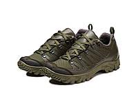 Жіночі трекінгові кросівки 220 олива, фото 1