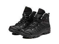 Трекінгові черевики чорні 250, фото 1