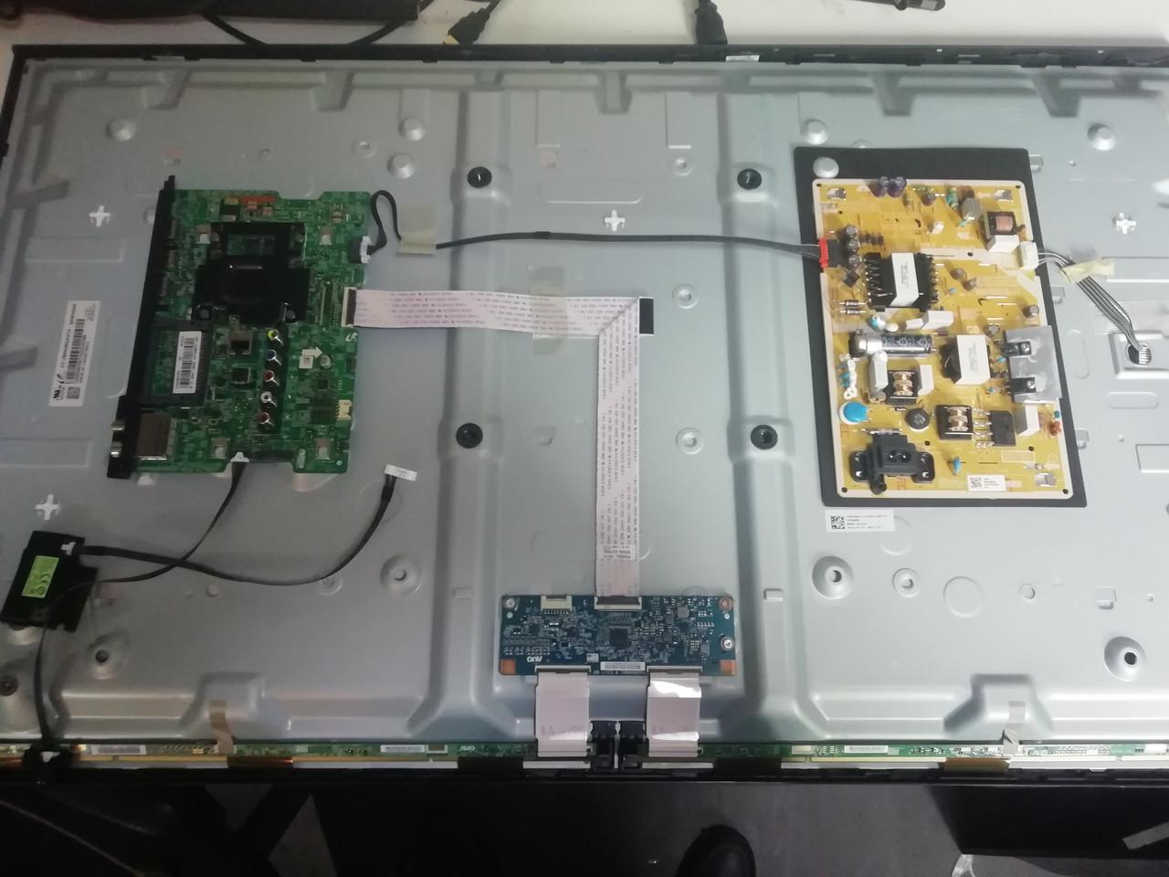Запчасти к телевизору Samsung UE43N5300AU (BN41-02663A, BN44-00852F L48MSFR_MDY, T430HVN01.6)