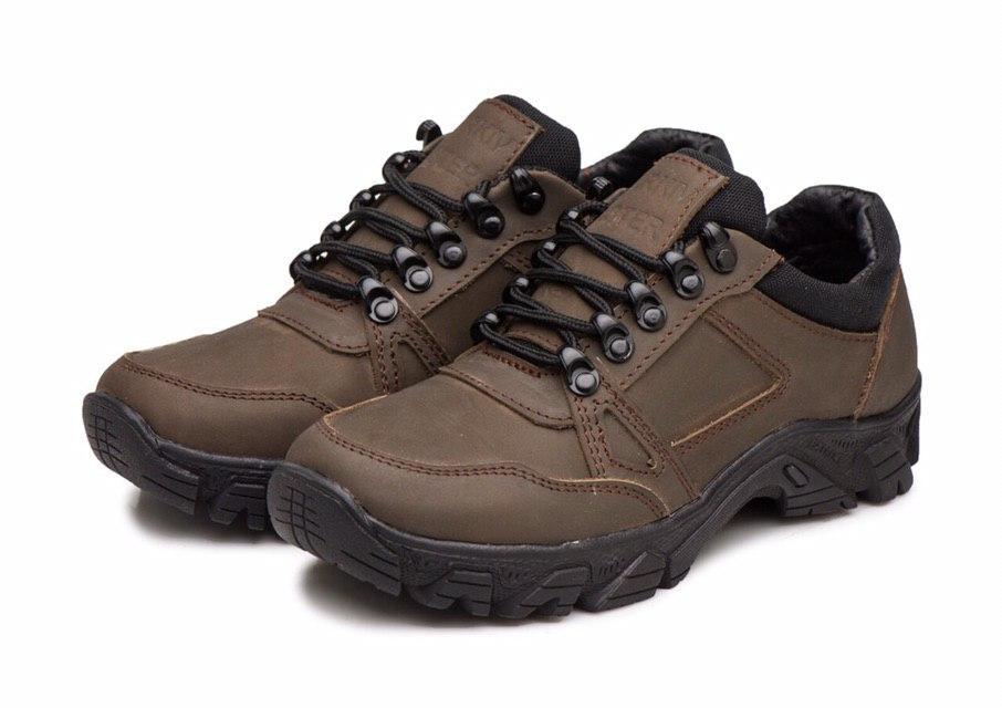 Жіночі тактичні кросівки -120 коричневі