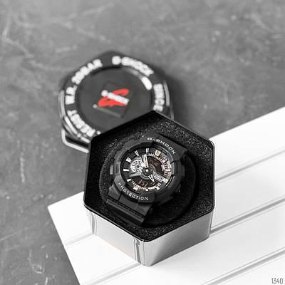 Casio G-Shock GA-110 Black-Silver New