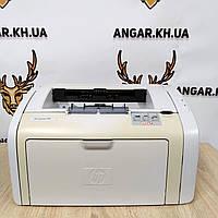 Принтер бу лазерный ч/б HP LaserJet 1018