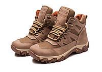 Жіночі тактичні черевики -118 сітка/койот, фото 1