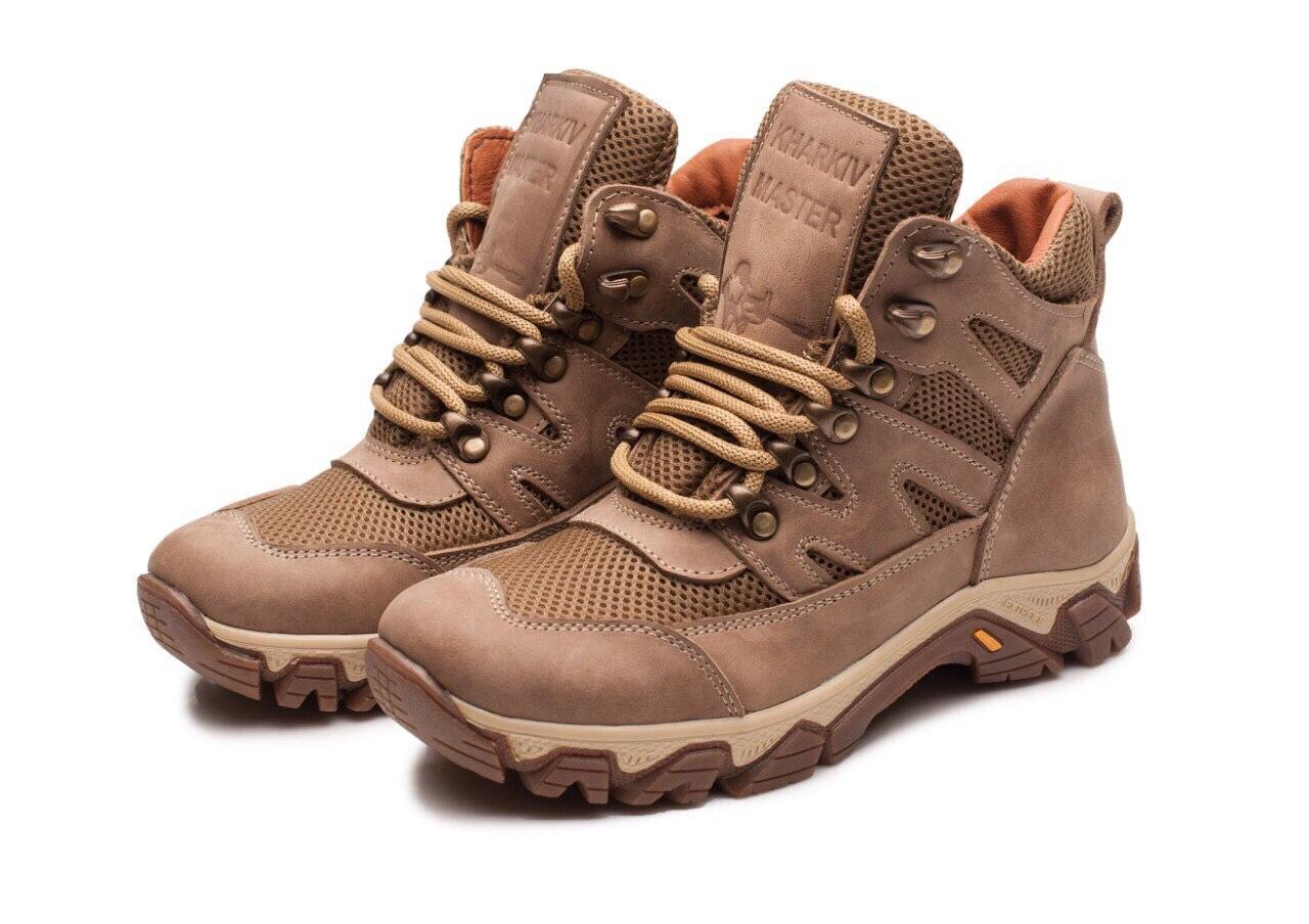 Жіночі тактичні черевики -118 сітка/койот