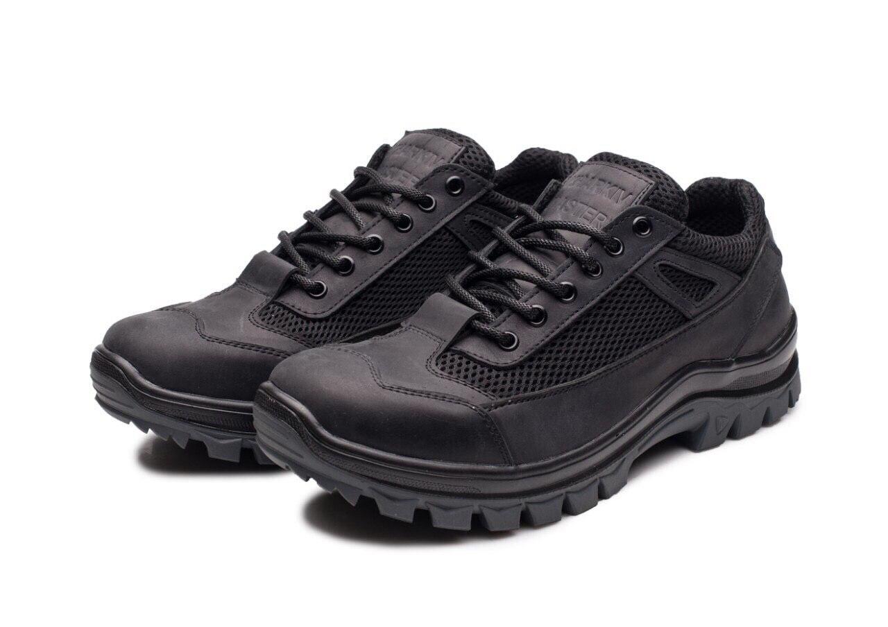 Тактичні кросівки 113 сітка/чорні
