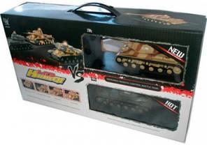 Танковый бой на радиоуправлении 529, 2 танка в компл., фото 3