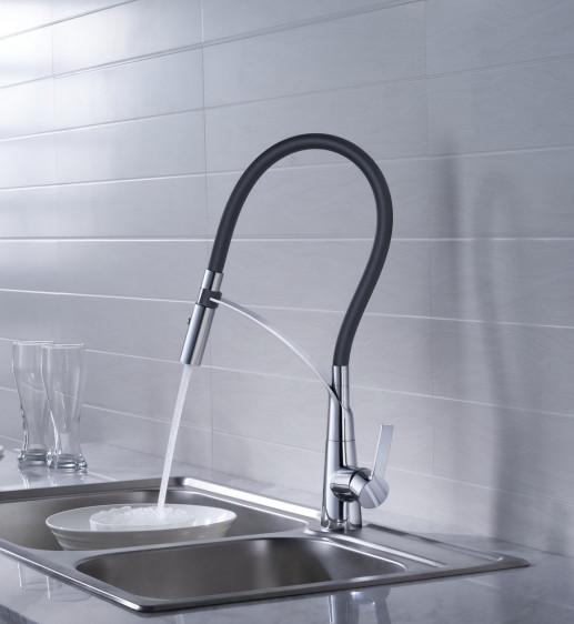Кран Blue Water Hugo хром для кухонной мойки, смеситель