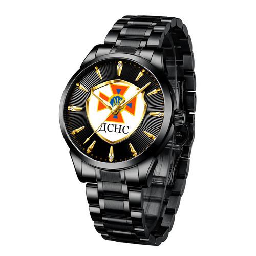 Chronte с логотипом ДСНС Black-Gold-White