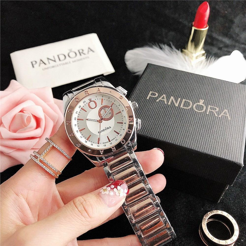 Pandora 7297DY Silver-Cuprum-White