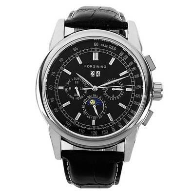 Forsining 319 Black-Silver-Black
