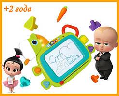 Магнітна дошка для малювання 3131 Limo Toys Поні музика звук, світло штамп 4шт