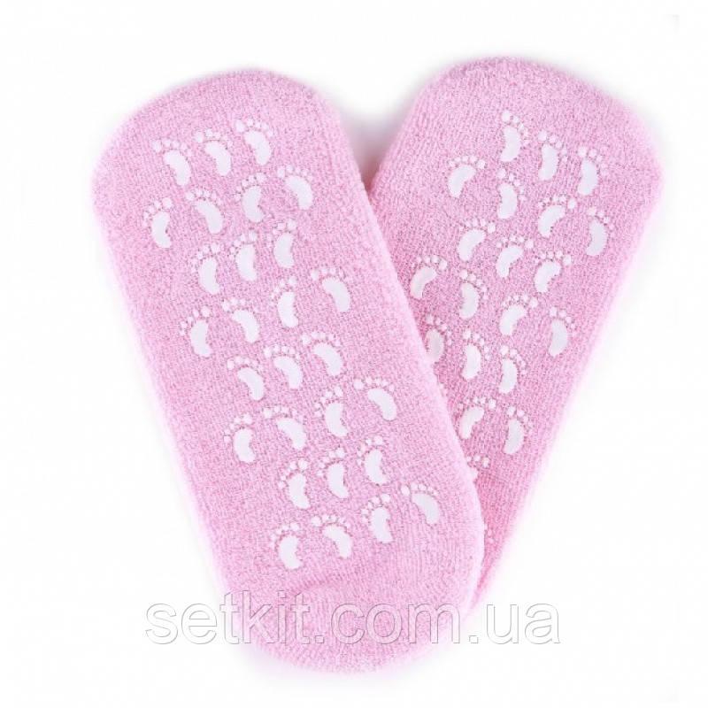 Gel Spa Socks (Гелевые увлажняющие носочки) РозовыеНет в наличии
