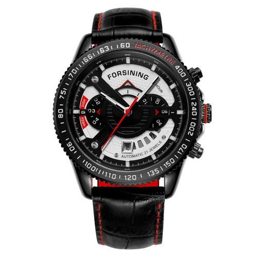 Forsining GMT1186 Black-Red-Whiter
