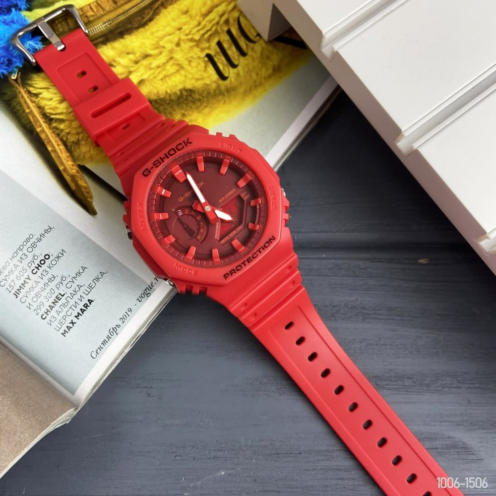 Casio G-Shock GA-2100 All Red