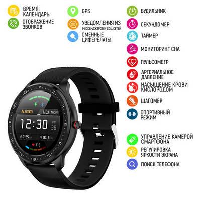Умные часы Modfit Z06 All Black