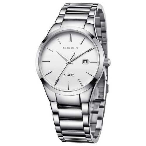 Curren 8106 Silver-White