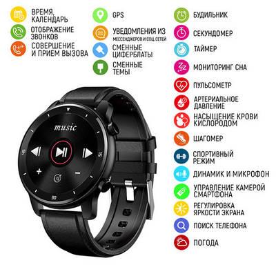 Часы наручные Modfit MT2 All Black