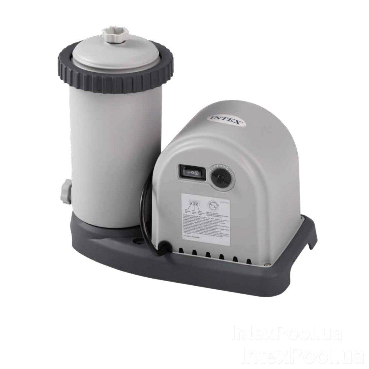 Картріджний фільтр насос Intex 28636, потужність 5 678 л/год, картридж тип А