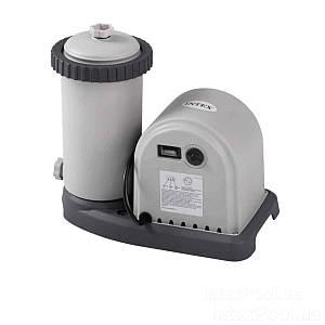 Картриджный фильтр насос Intex 28636, мощность 5 678 л/ч, картридж тип А