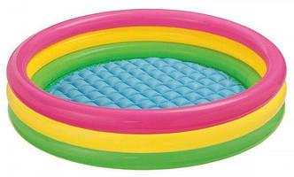 Детский надувной бассейн Intex 57422 (147 х 33 см) Радуга
