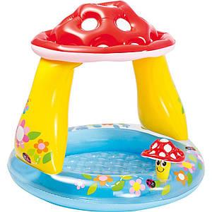 Бассейн детский надувной Intex Грибочек 102x89 см (57114)
