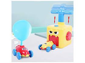 Аэромобиль balloon car машинка з кулькою Аеродинаміці Reaction FORCE Principle Інтерактивна игрушкаtion FORCE