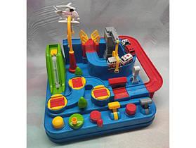 Механічний трек головоломка Rescue city JIA YU TOY розвиваюча іграшка з важелями і кнопками