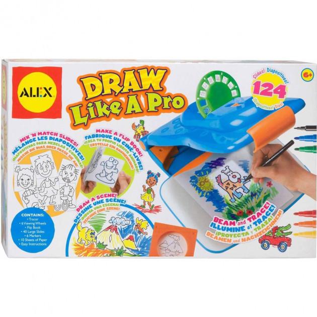 Набор для творчества юного художника Draw Like A Pro