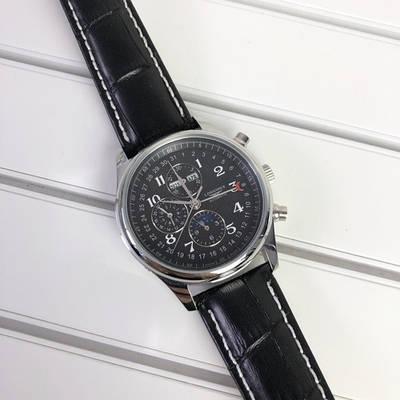 Часы наручные Longines Collection Moonphases Silver-Black