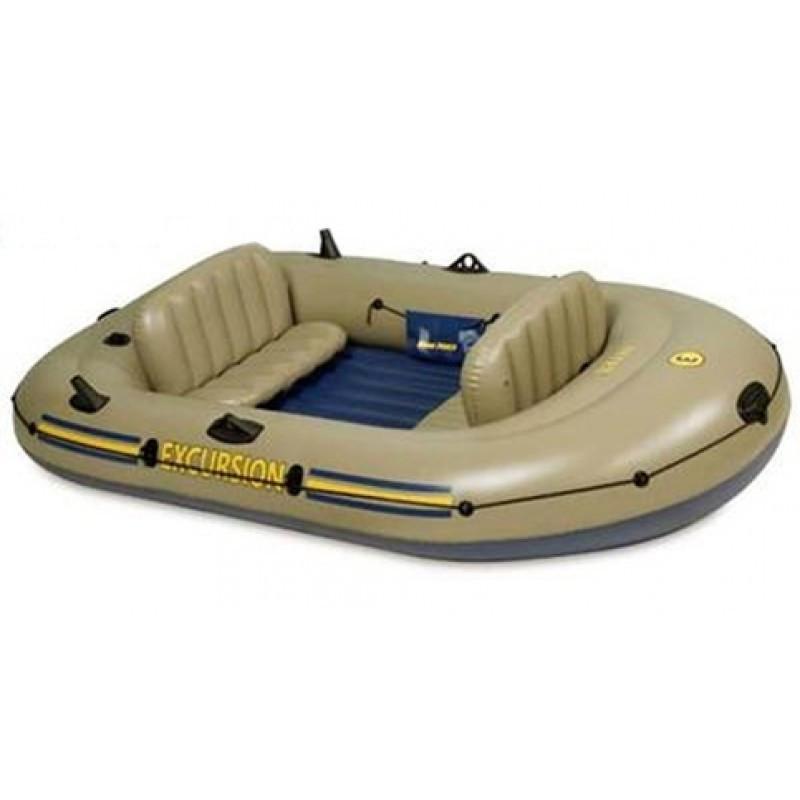 Надувная лодка Excursion 3 Set Intex 68319 (262х157x42 см)