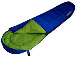 Спальник-кокон PRESTO ACAMPER 300g/m2 синій