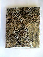 Полуторное постельное белье тигровое