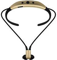 Беспроводные спортивные Bluetooth наушники Level u STN-730 Золотой 4223