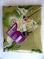 Постельное белье полуторное с цветами