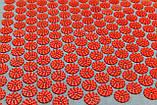 Масажний килимок і подушка (аплікатор Кузнєцова) масажер для спини/голови/ніг/тіла OSPORT Premium (apl-777), фото 3