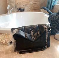 Стеганая сумка Ив Сен Лоран черная, фото 1