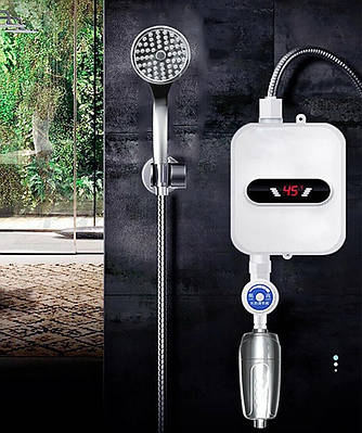 Термостатический водонагреватель Delimano с душем RX-021 184699