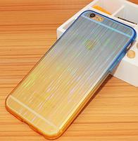 Мерцающий синий силиконовый чехол iphone 6/6S, фото 1