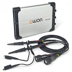 Осциллограф приставка Owon VDS1022 25 МГц 2 канала 100 МВ/с (mdr_ЛМ-00002577)
