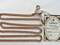 Золотая цепь 585 пробы, плетение нонна, 45 см