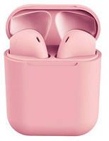 Беспроводные Bluetooth наушники Inpods 12 Розовый 4230