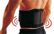 Турмалиновый пояс с магнитными вставками для спины *