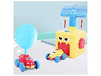 Аэромобиль balloon car машинка з кулькою Аеродинаміці Reaction FORCE Principle Інтерактивна игрушкаtion FORCE, фото 1