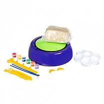Гончарний круг - дитячий набір для творчості Pottery Wheel фіолетовий | набір для творчості (1008173-Black-1)