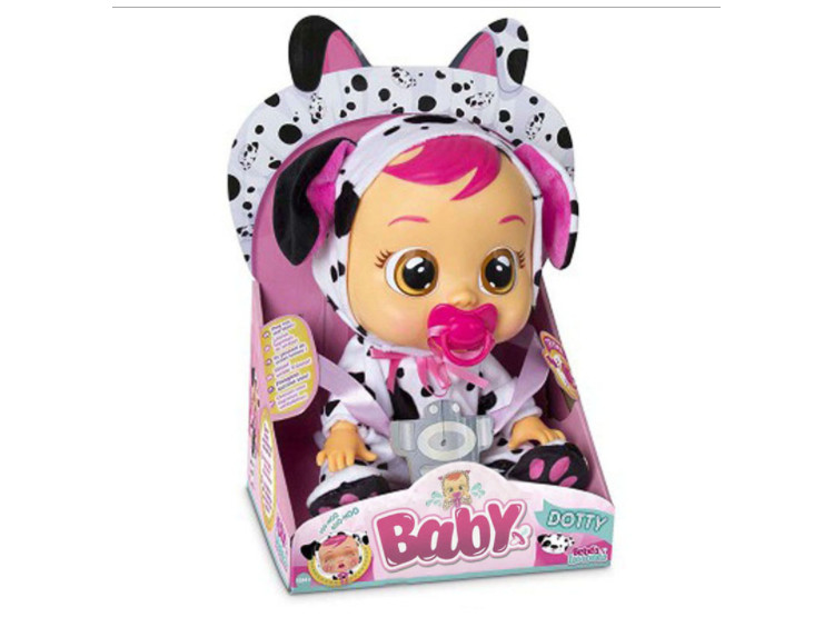 Интерактивная игрушка Lovely Cry Baby плачущая кукла младенец