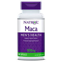 Бустер тестостерона, для здоровья мужчин Мака, Natrol Maca Extract 500mg - 60 капс