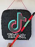 Піньята TikTok тік ток Tik Tok тикток піньята піната кулю на день народження куля обхват 110 см, фото 5